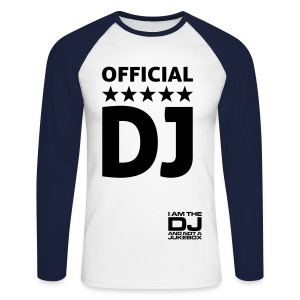 T-Shirt manches Longues DJ Homme - T-shirt baseball manches longues Homme