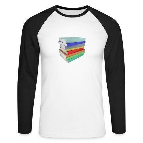 Books Shirt - T-shirt baseball manches longues Homme
