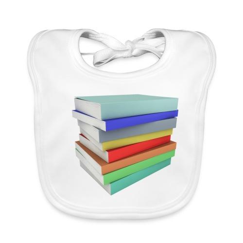 Books Shirt - Bavoir bio Bébé