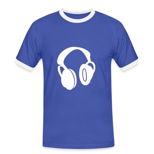 HEADPHONE - T-shirt contrasté Homme