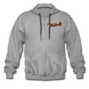 Extra Zip Up Hooded Jacket - Men's Premium Hooded Jacket