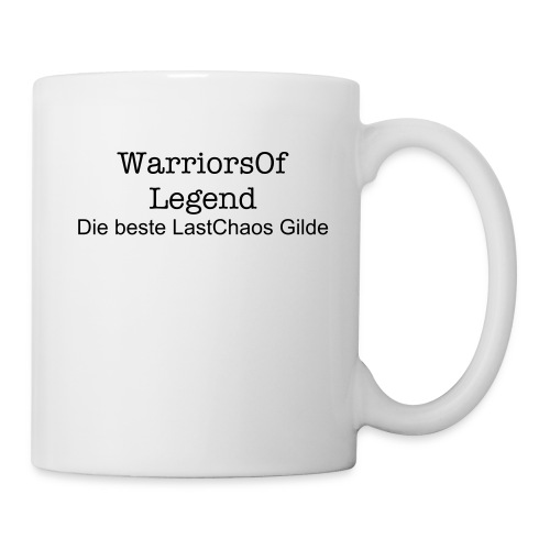 WarriorsOfLegend Tasse - Tasse