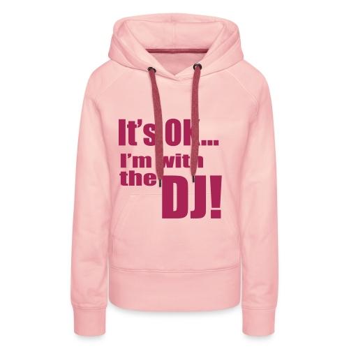 Ban Banani - I'm with the DJ (mehr Farbig) Frauen - Frauen Premium Hoodie