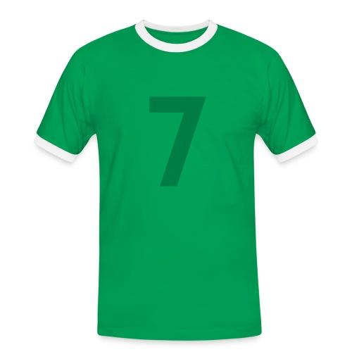 Player 7 - Männer Kontrast-T-Shirt