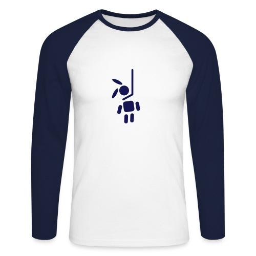 Bunny Killer College Shirt - Männer Baseballshirt langarm