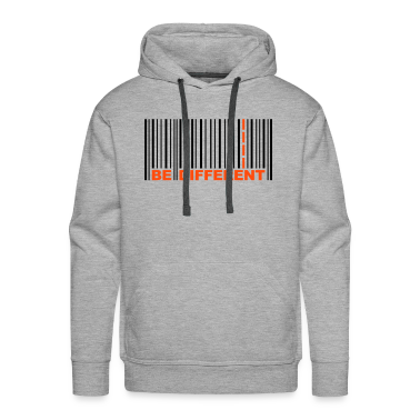 Be Different - Bar code Hoodies & Sweatshirts