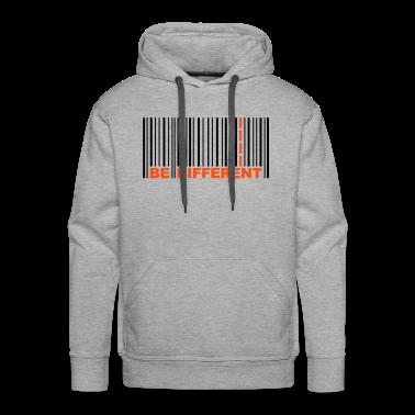 Be Different - Bar code Hoodies & Sweatshirts