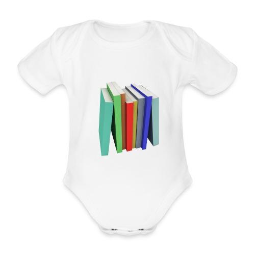 Books Shirt - Body bébé bio manches courtes