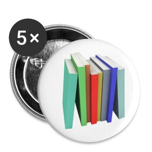 Books Shirt - Badge moyen 32 mm