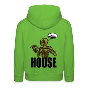 Sweat à capuche enfant alien house - Pull à capuche Premium Enfant