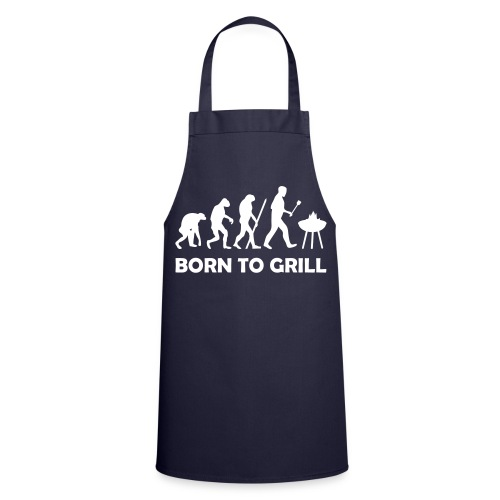 Born To Grill - Cooking Apron - Cooking Apron