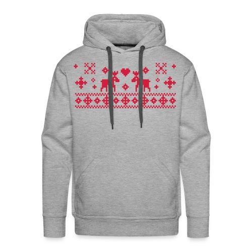 Mens Christmas Hoodie - Men's Premium Hoodie