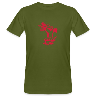 T-Shirts ~ Men's Organic T-shirt ~ Kitchen Guerilla klimaneutrales Shirt - Männer / arabisch