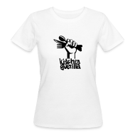 T-Shirts ~ Women's Organic T-shirt ~ Kitchen Guerilla klimaneutrales Shirt - Frauen / englisch