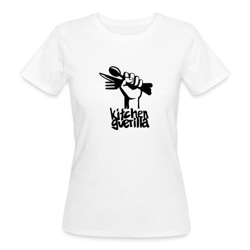 Kitchen Guerilla klimaneutrales Shirt - Frauen / englisch - Women's Organic T-Shirt