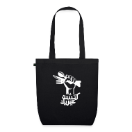 Bags & Backpacks ~ EarthPositive Tote Bag ~ Kitchen Guerilla Bio-Stofftasche / arabisch