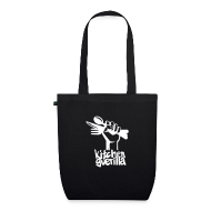 Bags & Backpacks ~ EarthPositive Tote Bag ~ Kitchen Guerilla Bio-Stofftasche / englisch