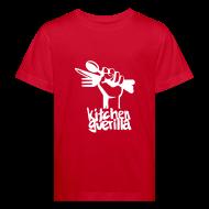 Shirts ~ Kids' Organic T-shirt ~ Kitchen Guerilla klimaneutrales Shirt - Kinder / englisch