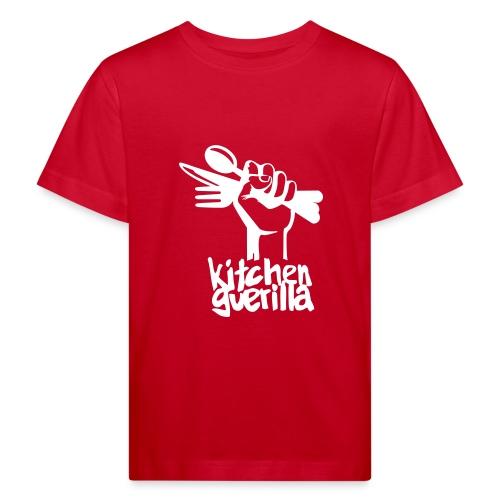 Kitchen Guerilla klimaneutrales Shirt - Kinder / englisch - Kids' Organic T-Shirt