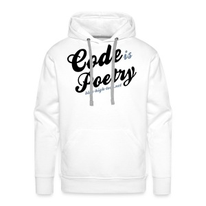 Code is poetry - Blog High-Tech - Sweat-shirt à capuche Premium pour hommes