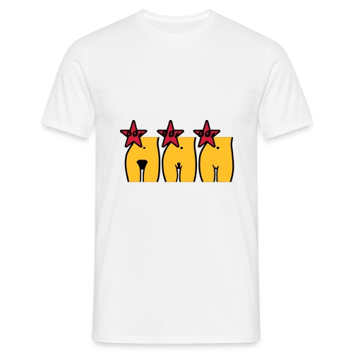 t shirt pussy - Maglietta da uomo