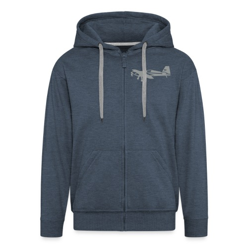 Zip Front Hoodie - Men's Premium Hooded Jacket