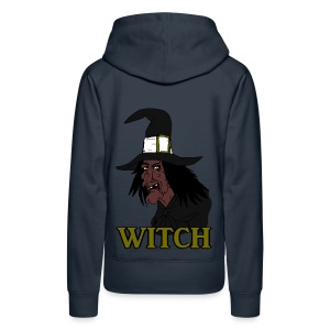Sweat à capuche femme witch - Sweat-shirt à capuche Premium pour femmes