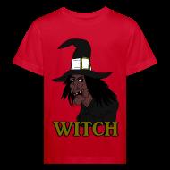 Tee shirts ~ Tee shirt Bio Enfant ~ T shirt enfant witch