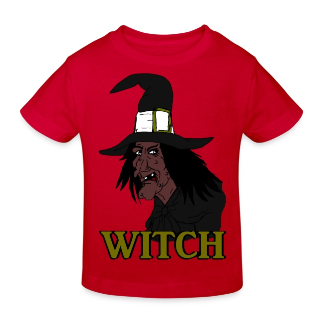 T shirt enfant witch