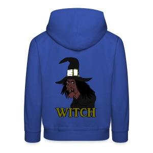 Pull à capuche enfant witch - Pull à capuche Premium Enfant