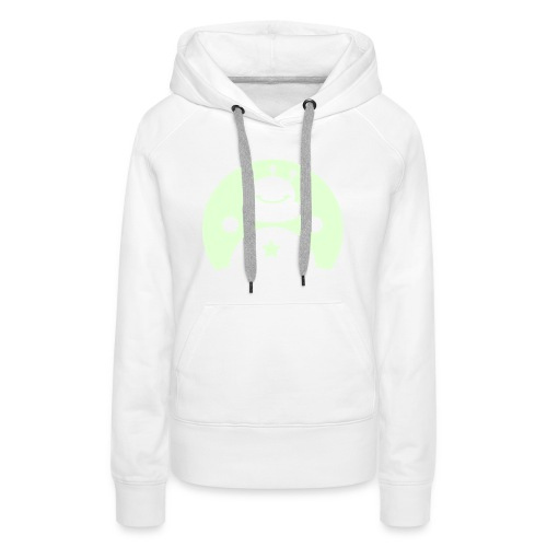 TOTALLY DARE illuminated alien - Women's Premium Hoodie