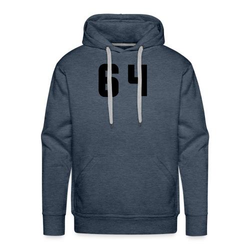 Sweat capuche 64 - Sweat-shirt à capuche Premium pour hommes