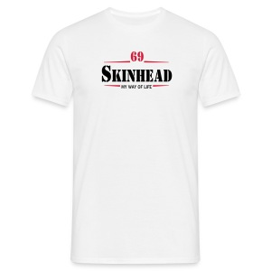 T-Shirt Skinhead 69 My Way Of Live - Männer T-Shirt