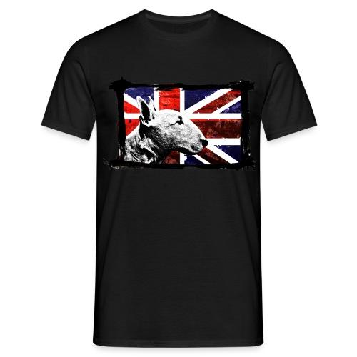 T-Shirt Bullterrier Britain - Männer T-Shirt