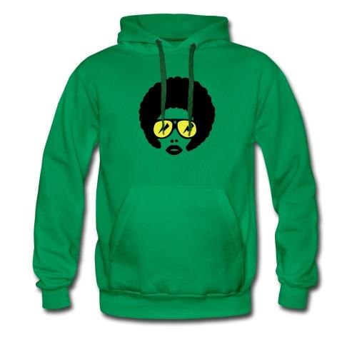 Afro Hoodie (green) - Men's Premium Hoodie