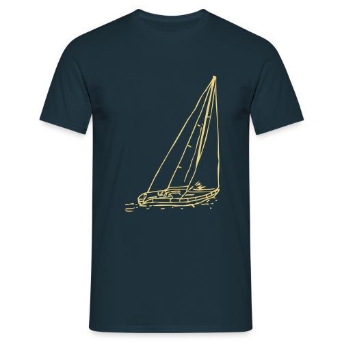 Segelboot #1.2 - Männer T-Shirt