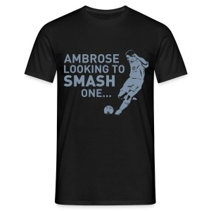 AMBROSE (with back print) - Men's T-Shirt