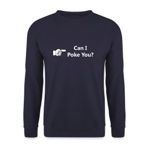 Can I Poke You? Mens Sweatshirt - Men's Sweatshirt