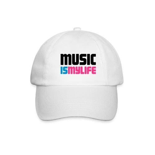 Baseballcap Music is my life - Baseballcap