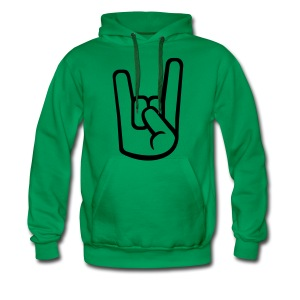 Rock & Roll - Mannen Premium hoodie