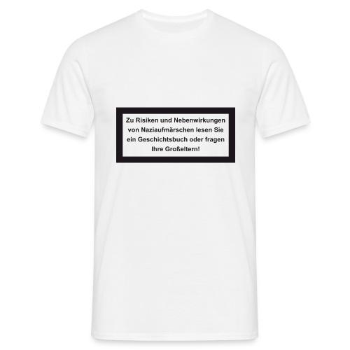 Nazi Risiken - Männer T-Shirt