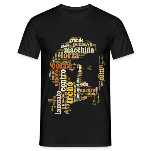 Guccini - La Locomotiva - Maglietta da uomo