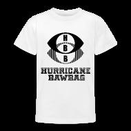 Shirts ~ Teenage T-shirt ~ Hurricane Bawbag HBB