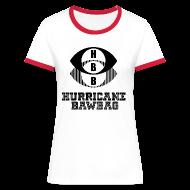 T-Shirts ~ Women's Ringer T-Shirt ~ Hurricane Bawbag HBB