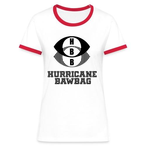 Hurricane Bawbag HBB - Women's Ringer T-Shirt