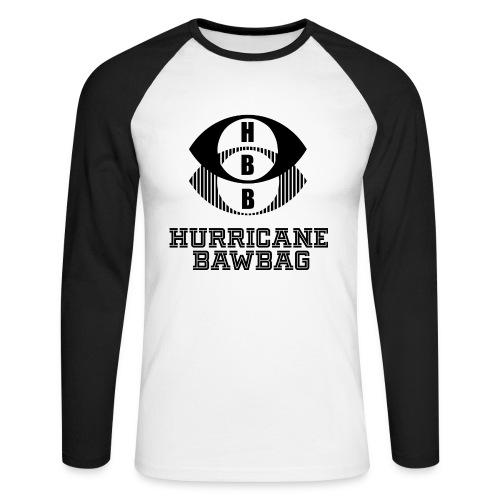 Hurricane Bawbag HBB - Men's Long Sleeve Baseball T-Shirt