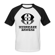 T-Shirts ~ Men's Baseball T-Shirt ~ Hurricane Bawbag HBB