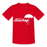 Shirts ~ Teenage T-shirt ~ Hurricane Bawbag Brolly