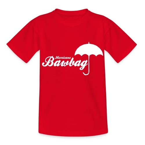 Hurricane Bawbag Brolly - Teenage T-Shirt