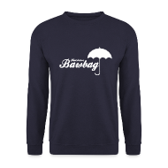Hoodies & Sweatshirts ~ Men's Sweatshirt ~ Hurricane Bawbag Brolly